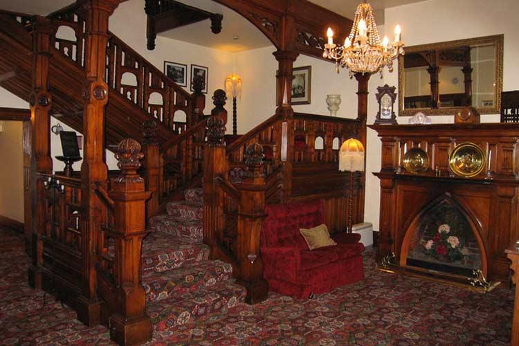 Lobby - Eliza's Manor - Lake Pukaki