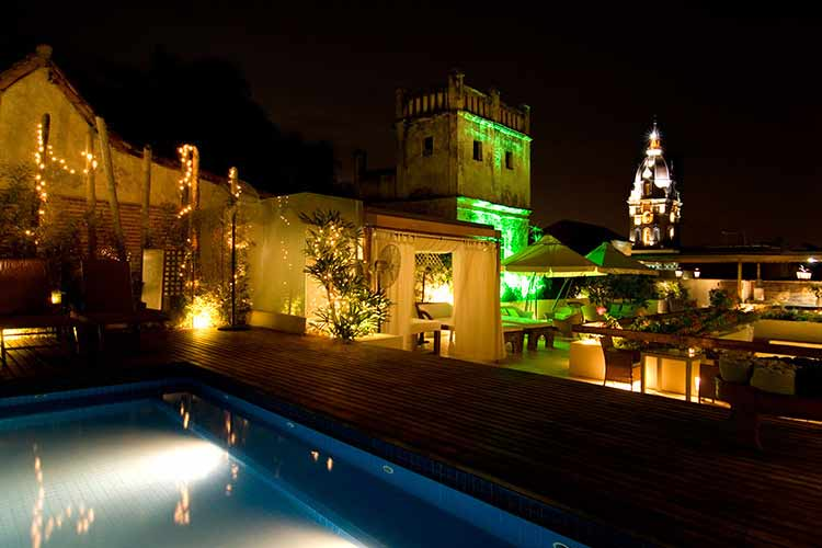 Swimming Pool - Hotel LM - Cartagena