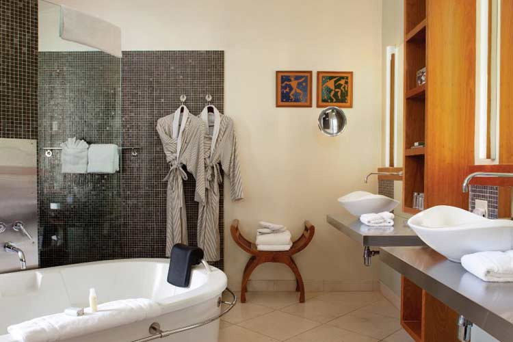 Gaige Suite Bathroom - Gaige House - Glen Ellen