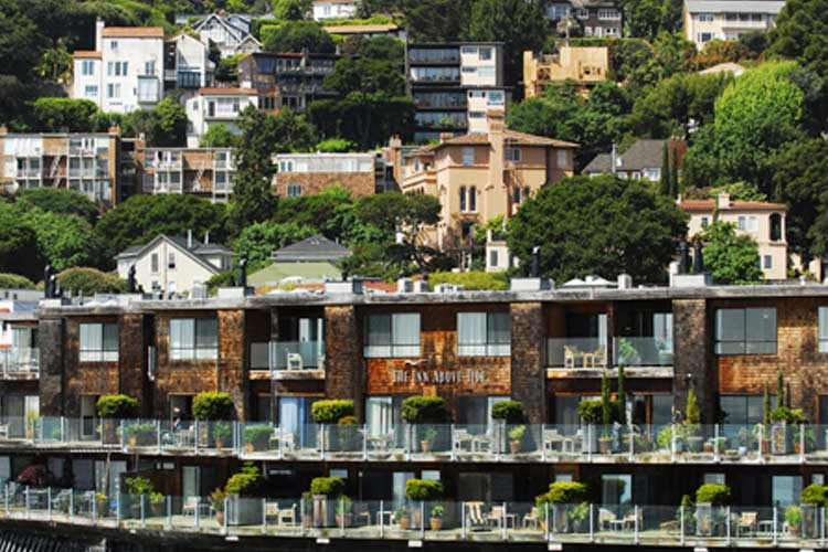 The inn above tide a boutique hotel in sausalito for Small great hotels
