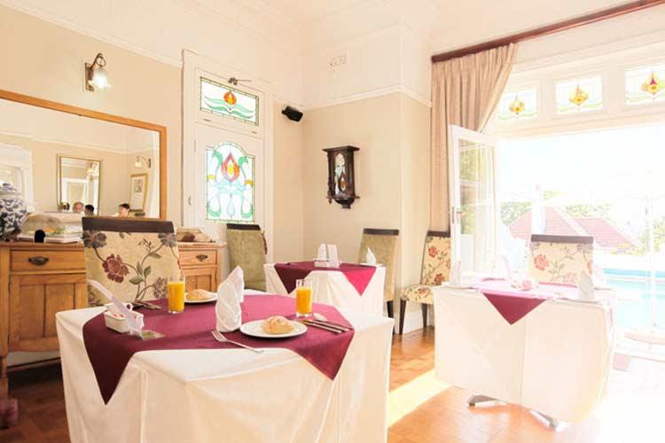 Dining Room - Abbey Manor - Ciudad del Cabo