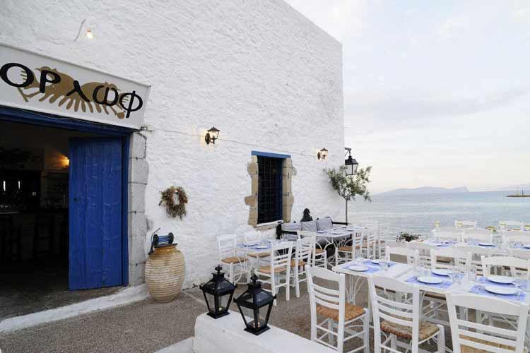 Restaurant in the Sea Front - Orloff Resort - Poros