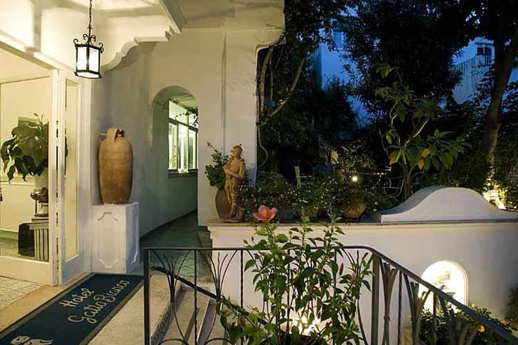 Entrance - Albergo Gatto Bianco - Capri, Ischia und Procida
