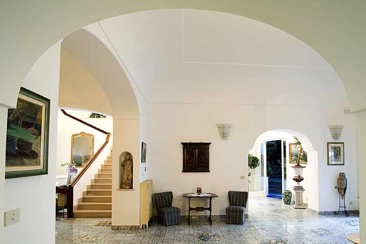 Lobby - Albergo Gatto Bianco - Capri, Ischia und Procida