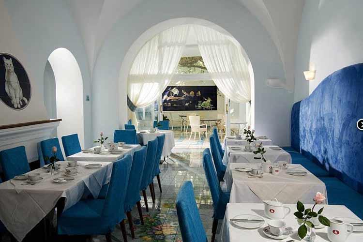 Restaurant - Albergo Gatto Bianco - Capri, Ischia und Procida