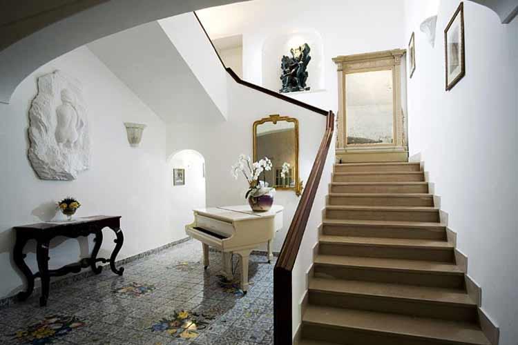 Staircase - Albergo Gatto Bianco - Capri, Ischia und Procida