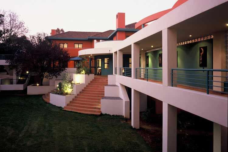 Facade - Hotel Ten Bompas - Johannesburg