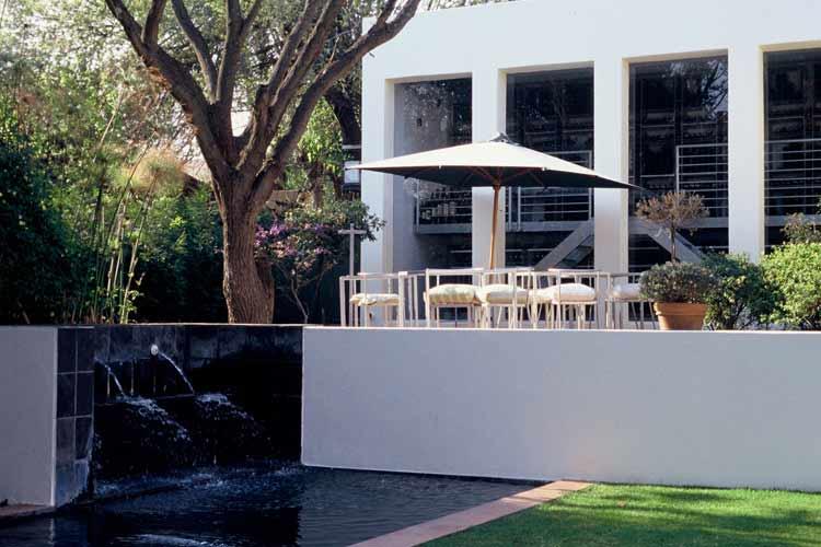 Terrace - Hotel Ten Bompas - Johannesburg