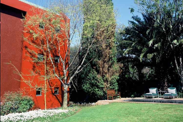 Garden - Hotel Ten Bompas - Johannesburg
