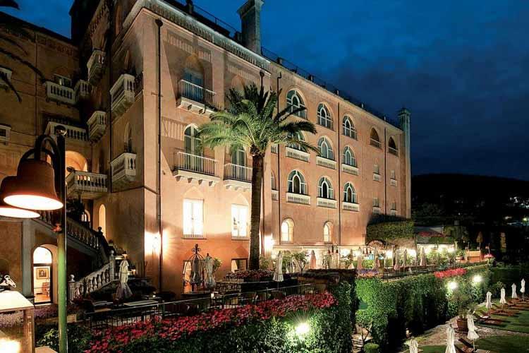Facade - Palazzo Avino - Costa Amalfitana