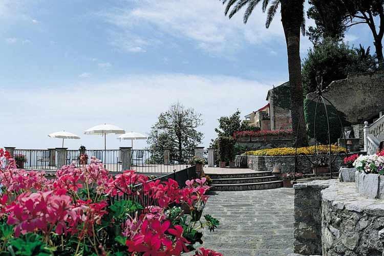 Terrace - Palazzo Avino - Costa Amalfitana