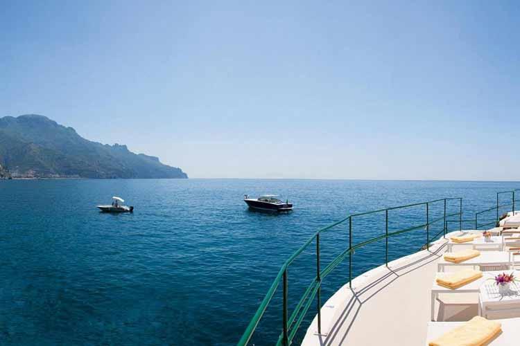 Club House by the Sea - Palazzo Avino - Costa Amalfitana