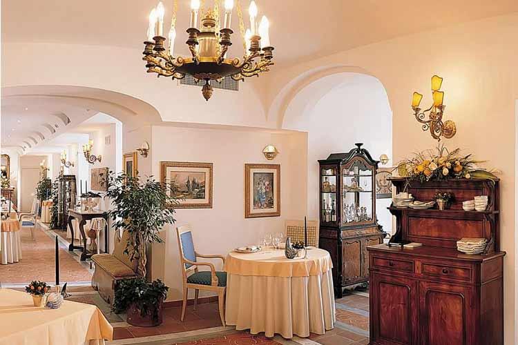 Salon - Palazzo Avino - Amalfiküste