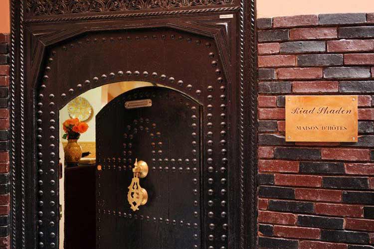 Front Door - Riad Shaden - Marrakech