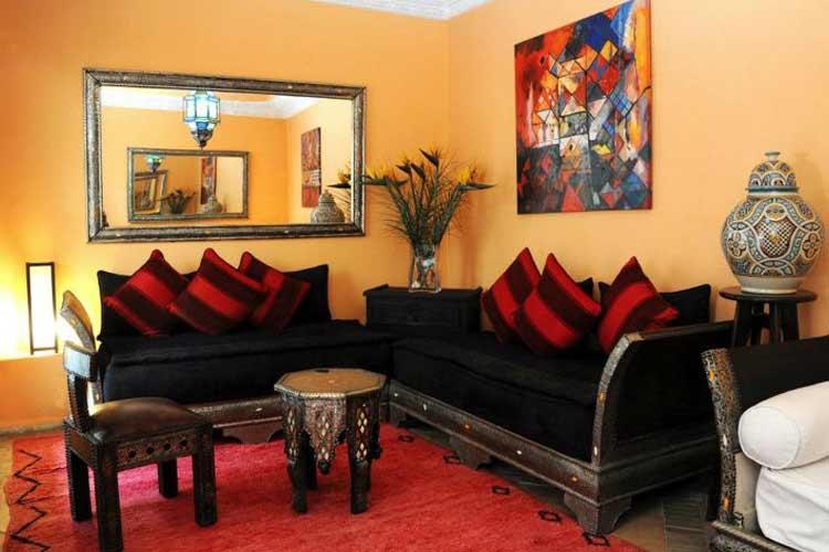Living Room - Riad Shaden - Marrakech