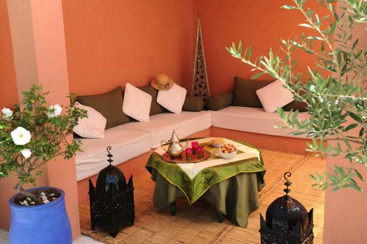 Relax on Roof Terrace - Riad Shaden - Marrakech