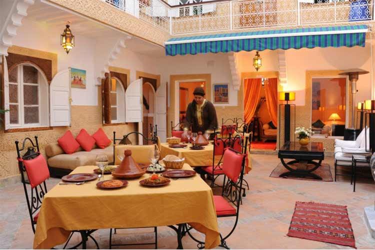 Courtyard - Riad Shaden - Marrakech