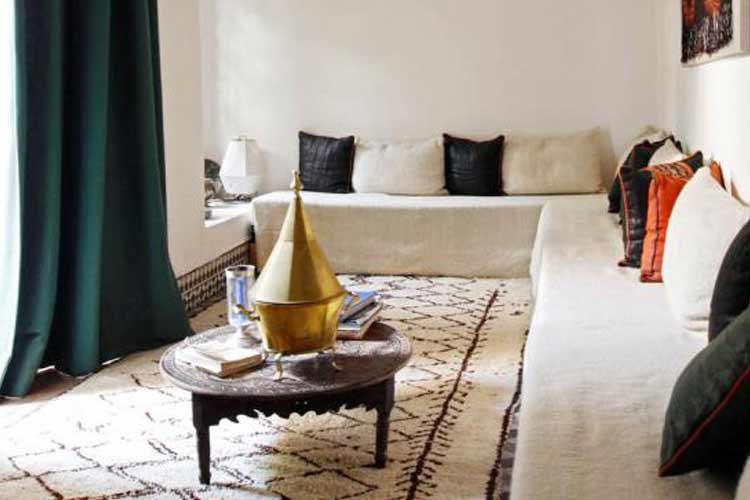 Salon Marocain - Riyad El Cadi - Marrakech