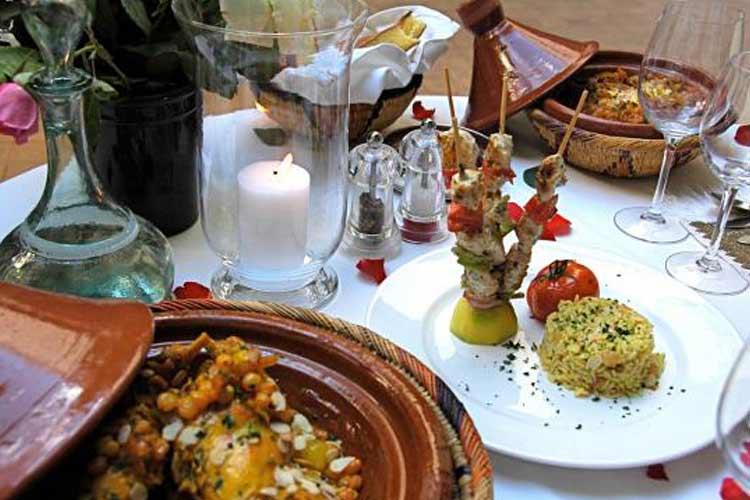 Service Food - Riyad El Cadi - Marrakech