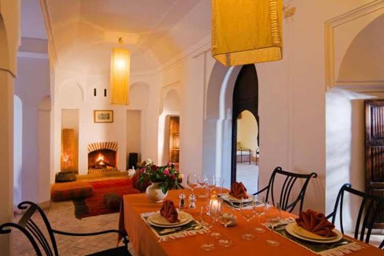 Dining Room - Riyad El Cadi - Marrakech