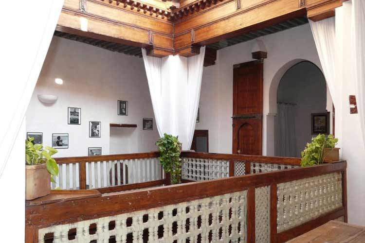 View of the Interior Balcony - Riad Laaroussa - Fes
