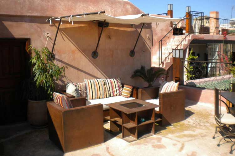 Terrace - Riad Laaroussa - Fes