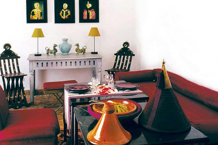 Living Room - Riyad el Mezouar - Marrakech