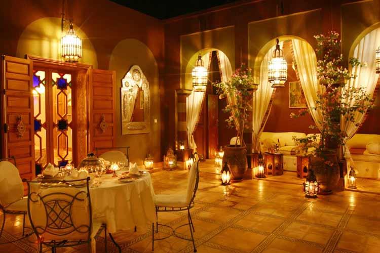 Terrace - Dar Ayniwen - Marrakech
