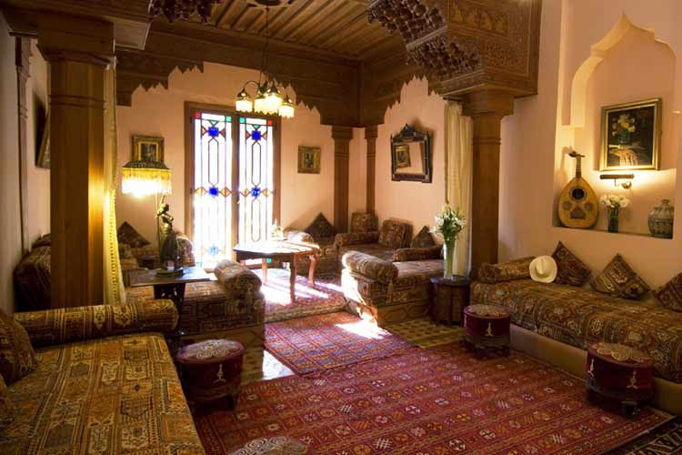 Salon - Dar Ayniwen - Marrakech