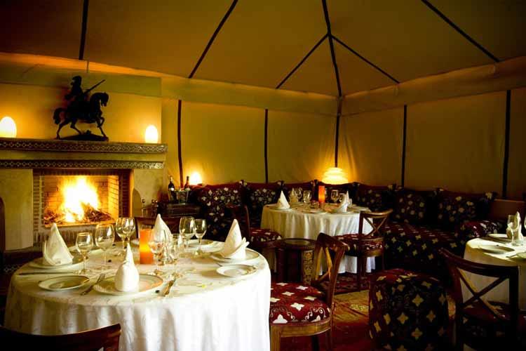 Restaurant - Dar Ayniwen - Marrakech