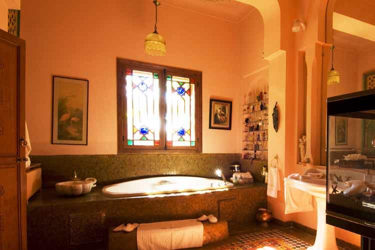 Sheherazade Bathroom - Dar Ayniwen - Marrakech