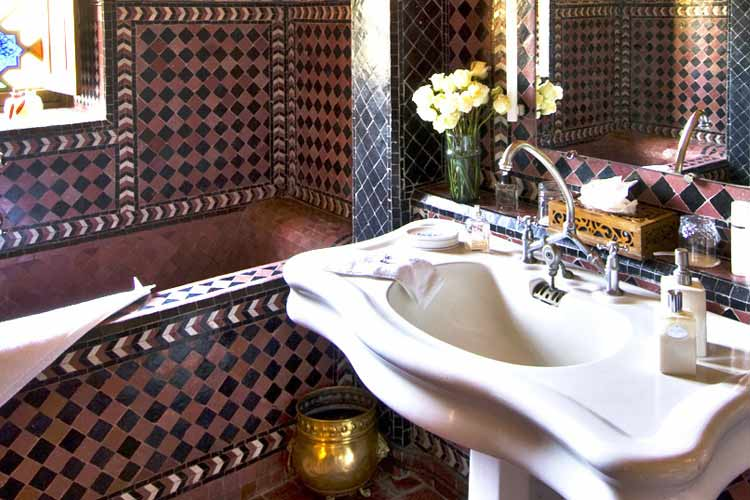 Galaxy Bathroom - Dar Ayniwen - Marrakech