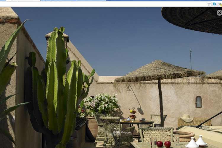 Restaurant - Ryad Dyor - Marrakech