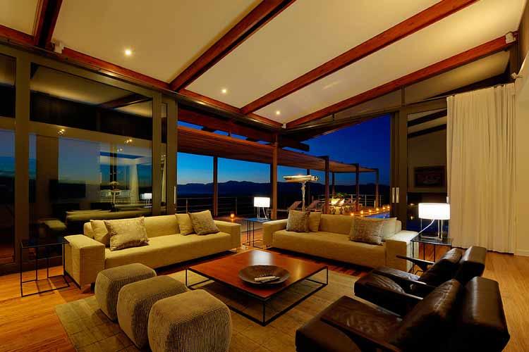 Villa Living Room - Grootbos Nature Reserve - Gansbaai