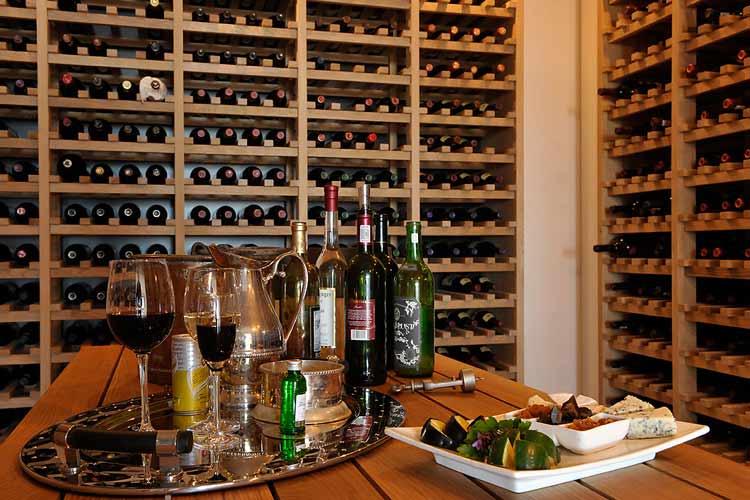Villa Wine Cellar - Grootbos Nature Reserve - Gansbaai