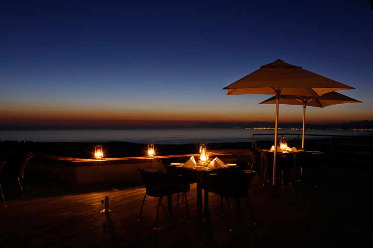 Forest Lodge Terrace - Grootbos Nature Reserve - Gansbaai