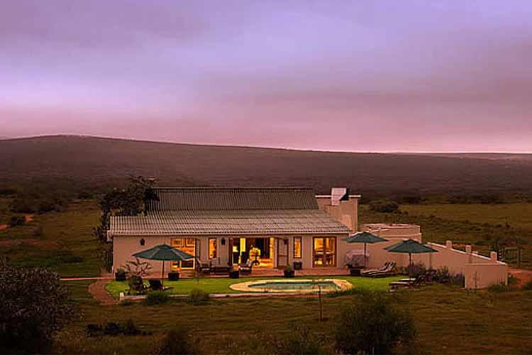 Villa Facade - RiverBend Lodge - Addo