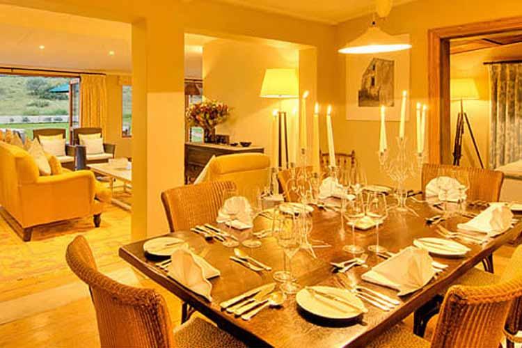 Long Hope Villa Dining Room - RiverBend Lodge - Addo