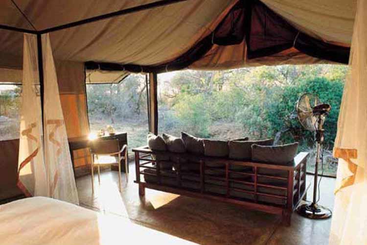 Mantobeni Tent - Honey Guide Camp - Kruger National Park