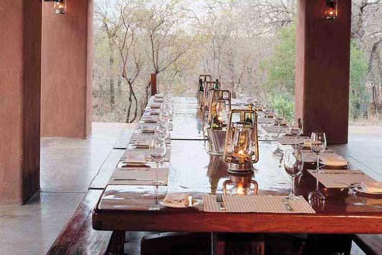 Mantobeni Dining Room - Honey Guide Camp - Kruger National Park
