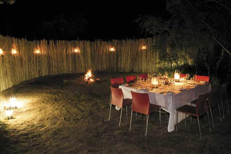 Khoka Moya Terrace - Honey Guide Camp - Kruger National Park