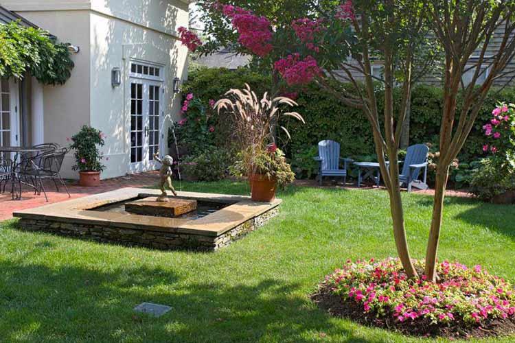 Garden - The Francis Malbone House - Newport