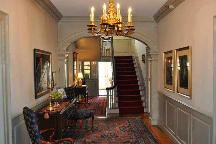 Staircase - The Francis Malbone House - Newport