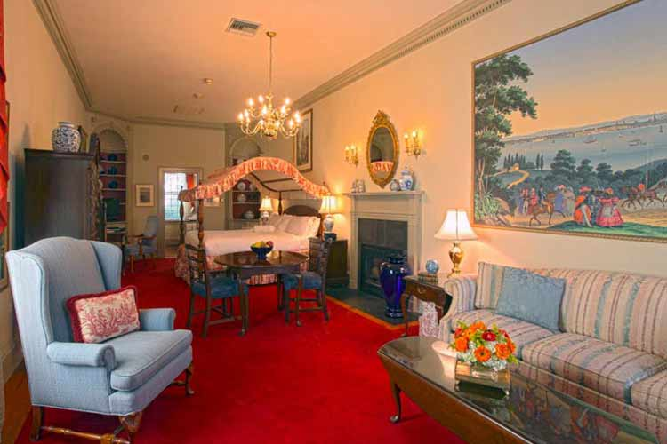 Counting House Double Room - The Francis Malbone House - Newport