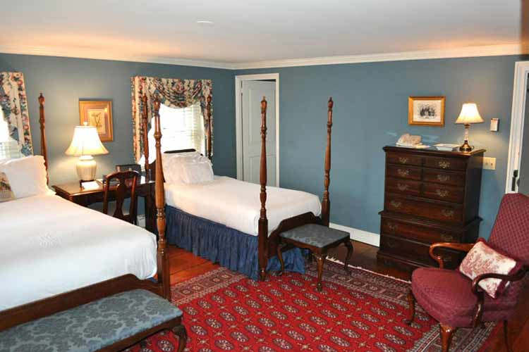 Harborside Double Room - The Francis Malbone House - Newport