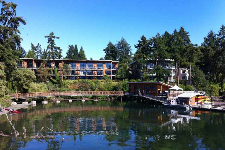 Facade - Brentwood Bay Lodge and Spa - Victoria