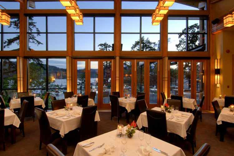 Restaurant - Brentwood Bay Lodge and Spa - Victoria