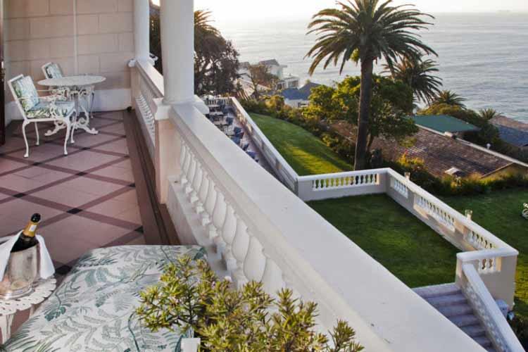 Private Terrace - Ellerman House - Ciudad del Cabo