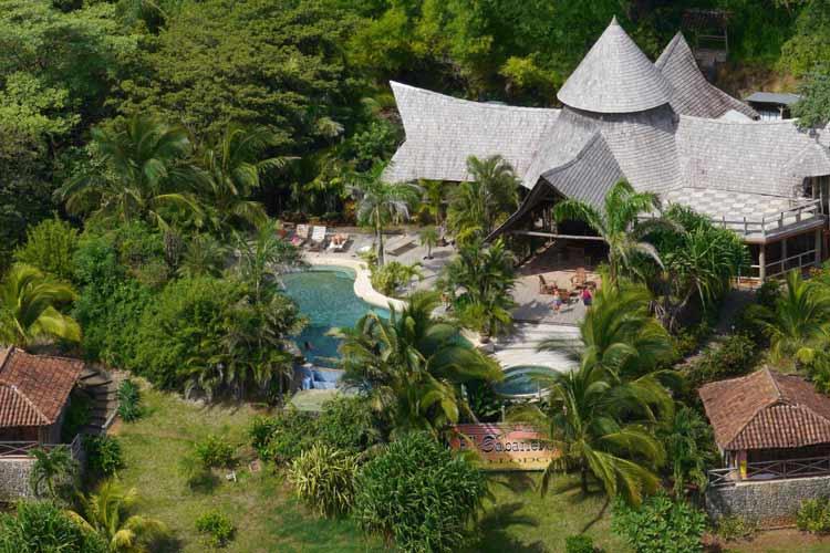 Aerial View - El Sabanero Eco Lodge - Tamarindo