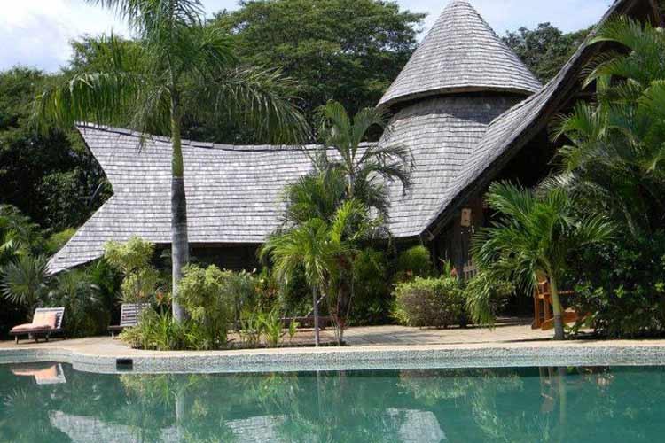 Facade - El Sabanero Eco Lodge - Tamarindo